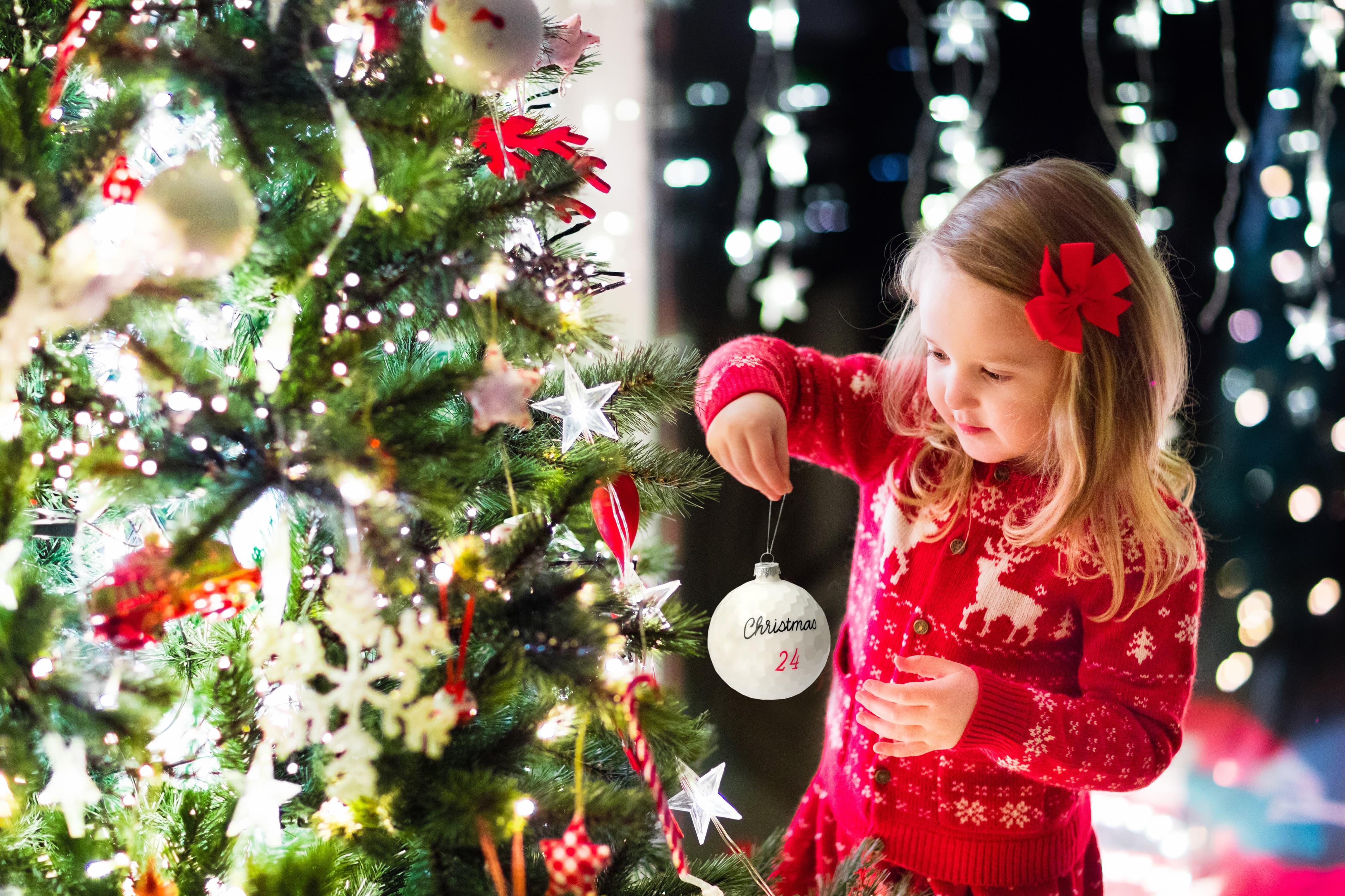 Golfaccessoire für den Weihnachtsbaum